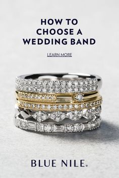How to Choose a Wedding Band We're here to help you find the perfect wedding band. Shop our wide selection of white gold, rose gold, yellow gold, diamond & gemstone rings to compliment your engagement ring. Unique Diamond Engagement Rings, Diamond Wedding Rings, Wedding Ring Bands, Wedding Shoes, Beautiful Wedding Rings, Perfect Wedding, Diamond Gemstone, Gemstone Rings, Gold Rings