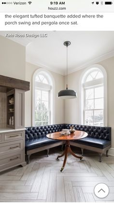 Banquette Banquette Seating In Kitchen, Dining Nook, Dining Room Design, Banquette Bench, Corner Banquette, Kitchen Dining, Corner Bench, Corner Seating, Dining Tables