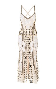 Anya Strappy Dress  by TEMPERLEY LONDON Now Available on Moda Operandi