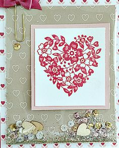 stampin up love blossoms embellishment it shaker card and 2016 stampin up occasions catalog valentine's day card ideas
