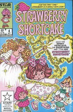 Strawberry Shortcake 1985 Marvel Star Comics 4 FN 6 0 | eBay Retro Wallpaper Iphone, Hipster Wallpaper, Aesthetic Iphone Wallpaper, Cartoon Wallpaper, Aesthetic Wallpapers, Dark Wallpaper, Bedroom Wall Collage, Photo Wall Collage, Picture Wall