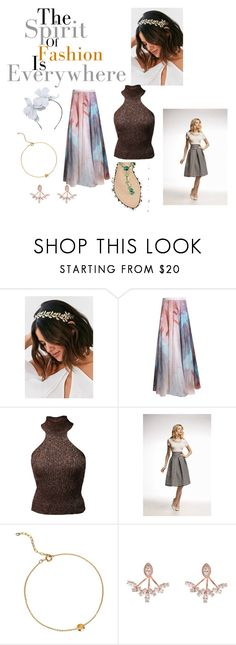 """""""Untitled #142"""" by sabii-dlii ❤ liked on Polyvore featuring Urban Outfitters, Bashaques, Mihaela Markovic, Rumour London and Maggie Mowbray Millinery"""