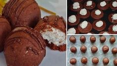 Nejlepší kokosové sušenky | NejRecept.cz Christmas Sweets, Christmas Baking, Pavlova, Desert Recipes, Quick Recipes, Kefir, Biscotti, Food Inspiration, Cookie Recipes