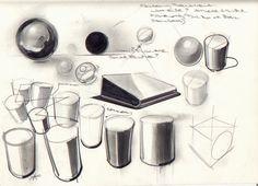sketching primitive volumes