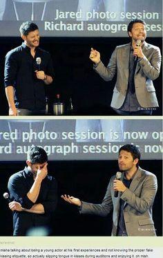 Misha, as always, being Misha