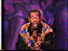 "A young Martin Lawrence performing a hilarious act in his show, ""One Night Stand"""