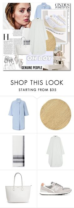 """""""Adele - Genuine-people.com 6"""" by undici ❤ liked on Polyvore featuring Anja, John Lewis, Arteriors, New Balance and Genuine_People"""