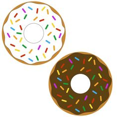 Free Donut SVG Cut File SVG cut files for the Silhouette Cameo and Cricut. Craftables: Fast shipping, responsive customer service, and quality products