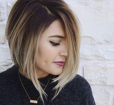 Love the color...  won't cut it this short though.