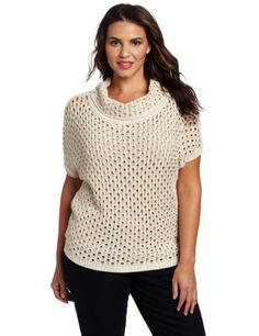 Jones New York Womens Plus-Size Marilyn Neck Top, Muslin Multi, 1X Jones New York,http://www.amazon.com/dp/B007POY23A/ref=cm_sw_r_pi_dp_GwyFrb734D3840BF