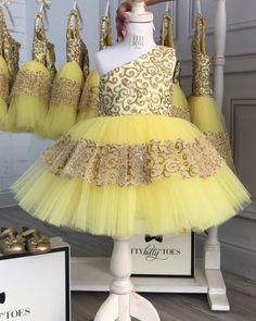 Sunny, just like today! ☀️ In stock and ready to ship Click the link in bio to shop Worldwide Delivery ittybittytoes Baby Girl Wedding Dress, Baby Girl Birthday Dress, Princess Flower Girl Dresses, Baby Girl Party Dresses, Cute Girl Dresses, Baby Gown, Little Girl Dresses, Kids Dress Wear, Kids Gown