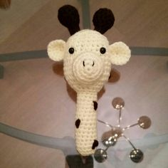 Check out this item in my Etsy shop https://www.etsy.com/listing/220622034/giraffe-baby-rattle
