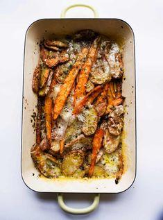 Vegetarian Recipes Dinner, Vegetarian Cooking, Potato Recipes, Healthy Cooking, Vegetable Recipes, Cooking Recipes, Dinner Recipes, Veggie Side Dishes, Food Dishes
