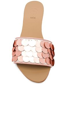 92c10394f54 Shop for RAYE x House Of Harlow 1960 Leilani Slide in Blush at REVOLVE.