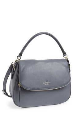 kate spade new york 'cobble hill - devin' satchel available at this might be my perfect purse! Cheap Kate Spade Purses, Kate Spade Handbags, Kate Spade Satchel, Kate Spade Bag, Work Handbag, Latest Bags, Mk Bags, Leather Satchel, Pebbled Leather