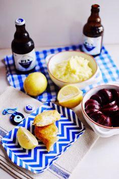 """Fix Hellas"" beer battered salt cod - bakaliaros (μπακαλιάρος)"