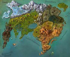 Fantasy Map Making, Fantasy City Map, Fantasy World Map, Fantasy Places, Fantasy Art, Dnd World Map, Rpg World, Imaginary Maps, Dungeon Maps