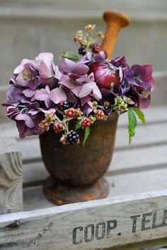 HWIT BLOGG: FLOWERS by titti & ingrid - Augustiblommor...