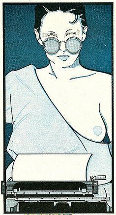 Patrick Nagel | by Patrick Nagel, Playboy Illustrations from… | Flickr