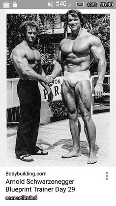 Arnold blueprint phase 2 gym pinterest workout and gym arnold knew more volume in the gym meant more volume from the crowd get ready to work even harder for the next 4 weeks malvernweather Choice Image