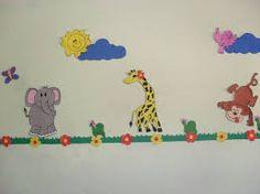 Resultado de imagem para decoração de salas de creche