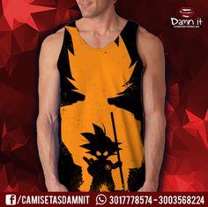 Camisilla Kakaroto - Goku Naranja  hhtp://www.facebook.com/camisetasdamnit
