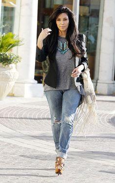 my dannijo necklace on Kim Kardashian