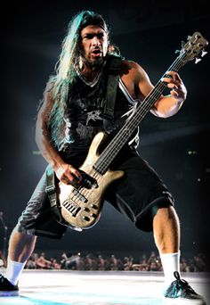 Robert Trujillo - bassist who successfully auditioned to join Metallica in 2003. Solid rock credentials, having also played with Suicidal Tendencies, Black Label Society, and Ozzy Osbourne.