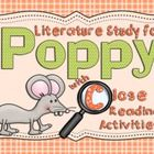 Poppy is a wonderful book by the well-known author, Avi.  This literature unit for Poppy contains all you need to enjoy this book with your student...