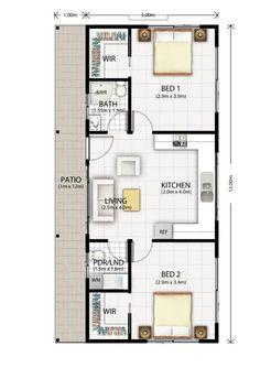 Cromer Granny Flat Design Floor Plan
