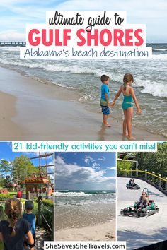 21 Exciting Things to Do in Gulf Shores with Kids - She Saves She Travels Alabama Gulf Coast Zoo, Gulf Shores Alabama, Gulf Shores Beach, Gulf Shores Vacation, Beach Vacations, Family Vacations, Vacation Trips, Vacation Ideas, Travel With Kids
