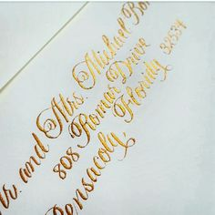Gold Inspiration And Ideas On Pinterest Gold Calligraphy
