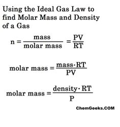 PV=nRT, The Ideal Gas Law