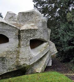 andré bloc, sculpture-habitacle 2, meudon, paris, france 1964