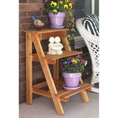 Step-by-Step Plant Stand: Downloadable Woodworking Plan: Editors of WOOD Magazine: Amazon.com: Patio,Lawn & Garden