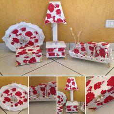 Kit vermelho