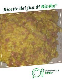 risotto zafferano e salsiccia è un ricetta creata dall'utente angela270589. Questa ricetta Bimby<sup>®</sup> potrebbe quindi non essere stata testata, la troverai nella categoria Primi piatti su www.ricettario-bimby.it, la Community Bimby<sup>®</sup>. Oatmeal, Beans, Pasta, Vegetables, Cooking, Breakfast, Food, The Oatmeal, Kitchen