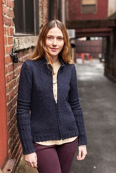 Chicane pattern by Cookie A (woman's version - wool people 4)
