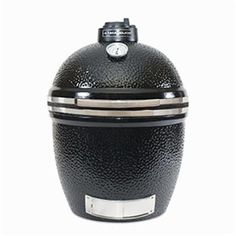 KAMADO JOE BIGJOE CERAMIC GRILL  STAINLESS BANDS IN BLACK 304 Commercial-grade stainless steel hinged cooking grate Flavor and Juices Locked in with the Heat-resistant Ceramics Easy to operate lid with counterbalanced hinge Temperature easily maintained with venting