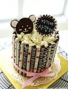 Enjoyable 75 Best Korean Cakes Images Korean Cake Desserts Cake Personalised Birthday Cards Arneslily Jamesorg