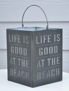 Love this beach lantern that has just arrived.