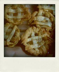 Cute mini apple pie tartlets