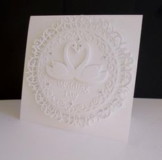 Swan Wedding by sistersandie - Cards and Paper Crafts at Splitcoaststampers