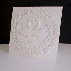 Swan Wedding by sistersandie - Cards and Paper Crafts at Splitcoaststampers