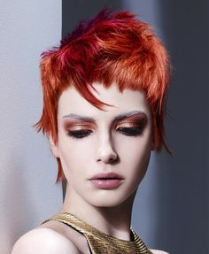 Alan Keville Hair Short Red Hairstyles