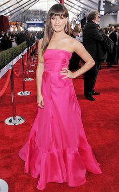 Lea Michele at the 2013 SAG Awards