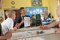 Family program en Teignmouth Parents, Sons, English Course, Father And Son