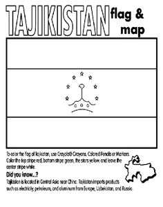 foreign flags coloring pages - photo#32