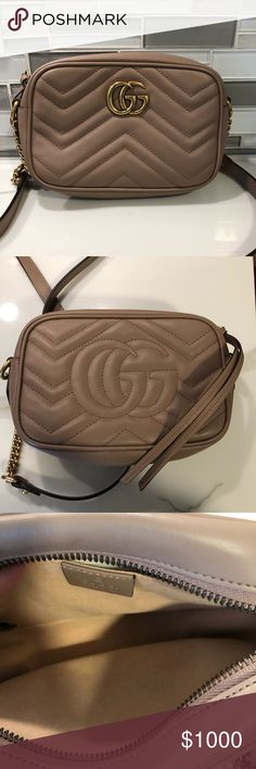 cef056bf0c41d1 Gucci marmont camera bag Barely used No box or dust bag 100% authentic Let  posh