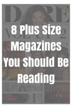 Did you know that there are a bunch of online and print plus size magazines?? Fashion, beauty, relationships, sex, plus size news, plus size models, inspiration, body image…whatever you're looking for these magazines have got you covered. Each magazine has its own style and there's something for everyone. Subscribe to one or subscribe to them …